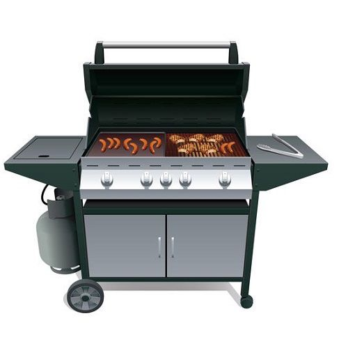 Dual-Fuel Grill