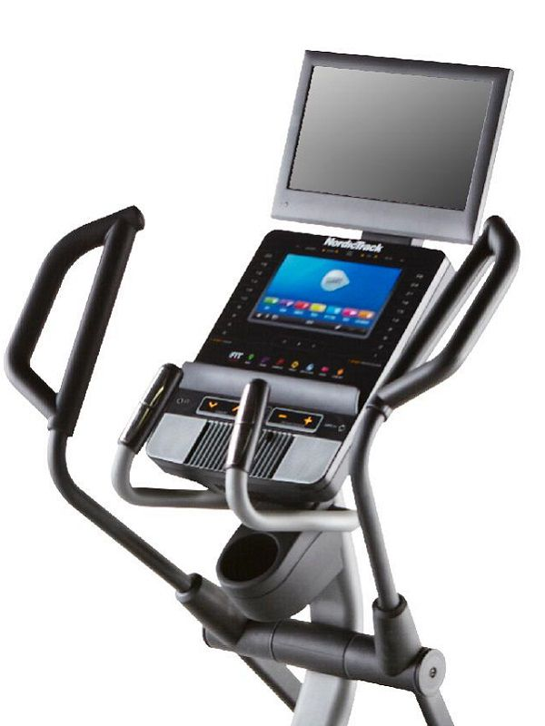 Elliptical console features