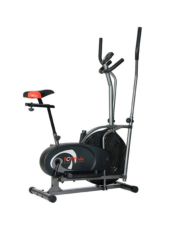 Dual-trainer elliptical