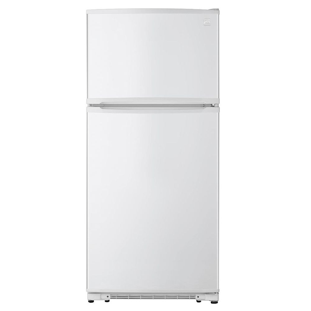 Kenmore 18 cu. ft. Top-Freezer Refrigerator with Glass Shelves