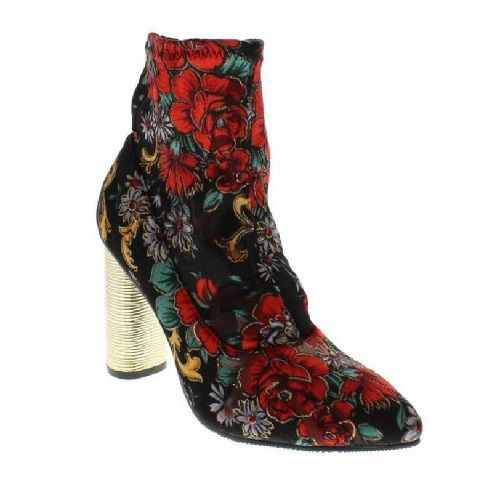 MOCA Women's Glamour-82 Floral Boot