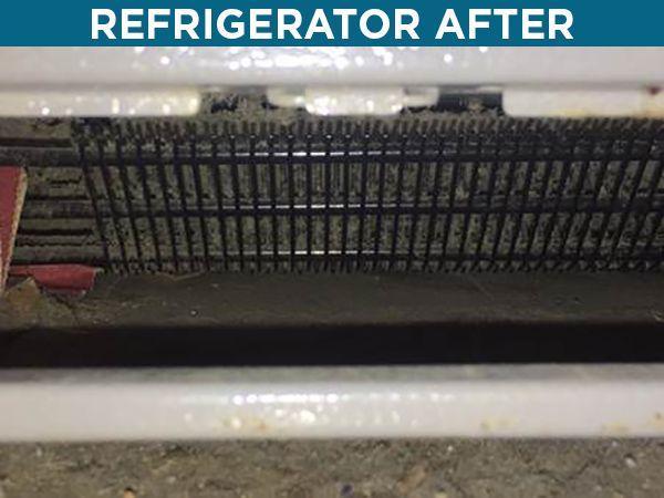 refrigarator after