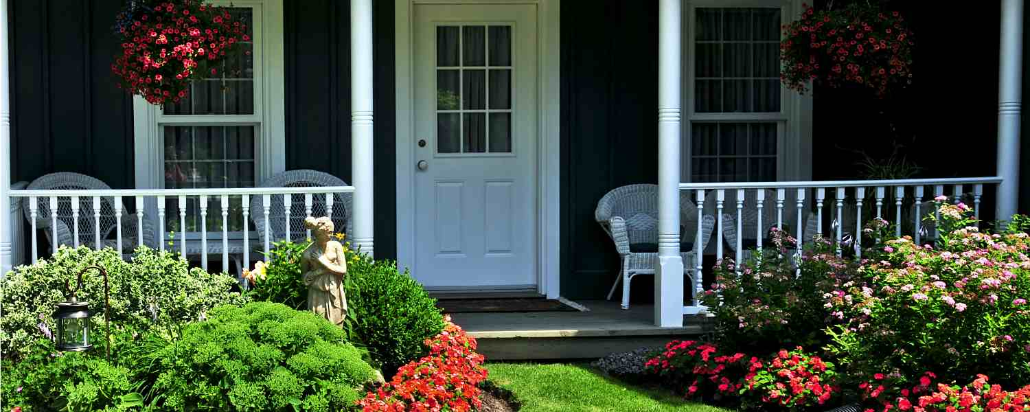 Fill Your Front Porch With Flowers and Plants