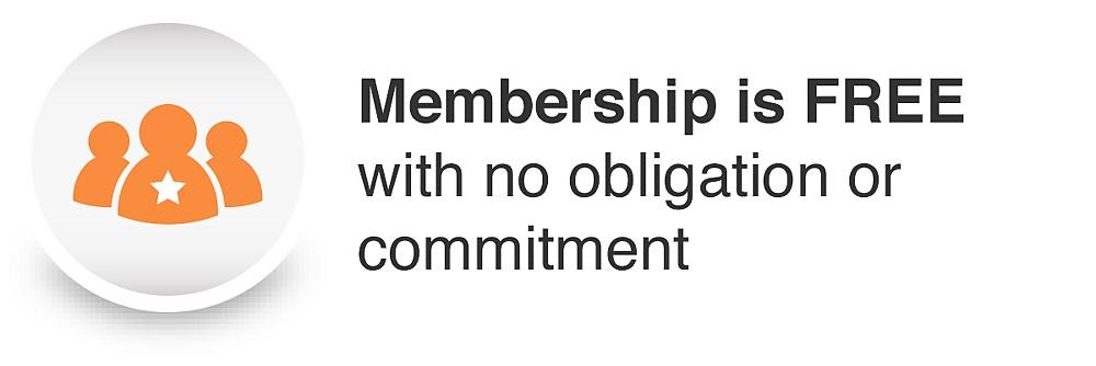 La membresía es GRATIS