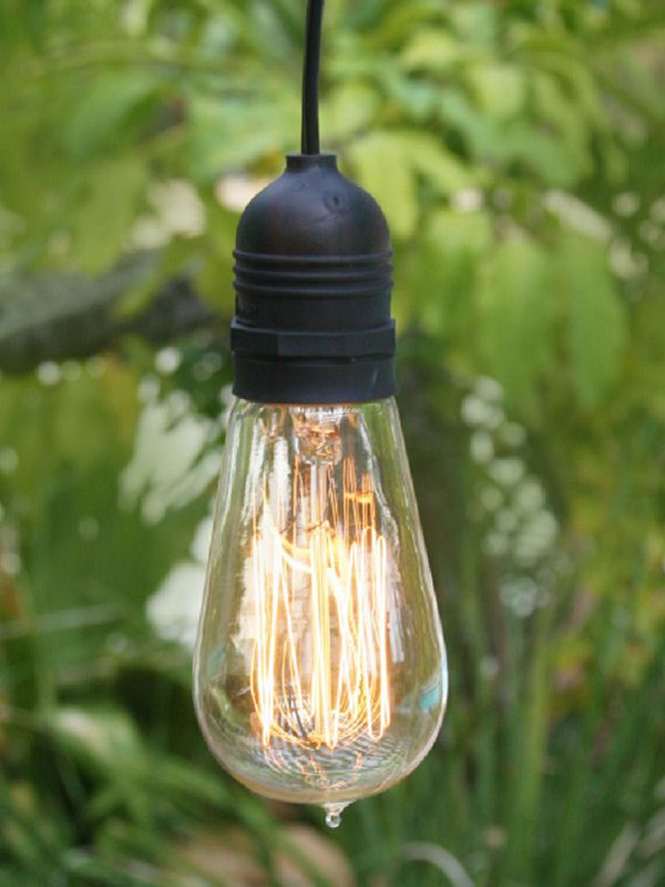 Incandescent outdoor lights