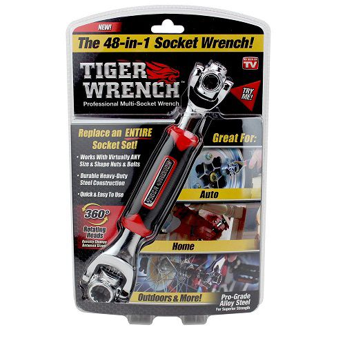 As Seen On TV 48-in-1 Tiger Wrench