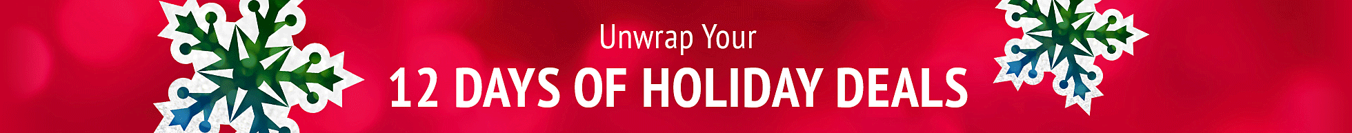 Unwrap Your 12 Days of Holiday Deals