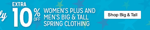 Plus and Big & Tall Event