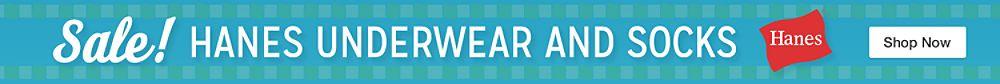Hanes Underwear and Socks