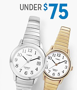 Shop watches under $75