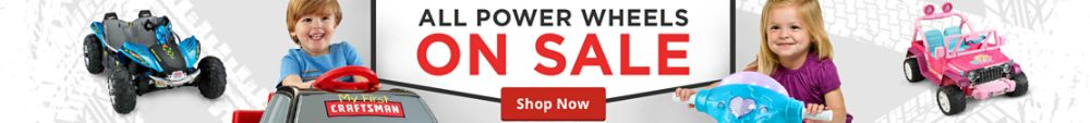 Power Wheels on sale
