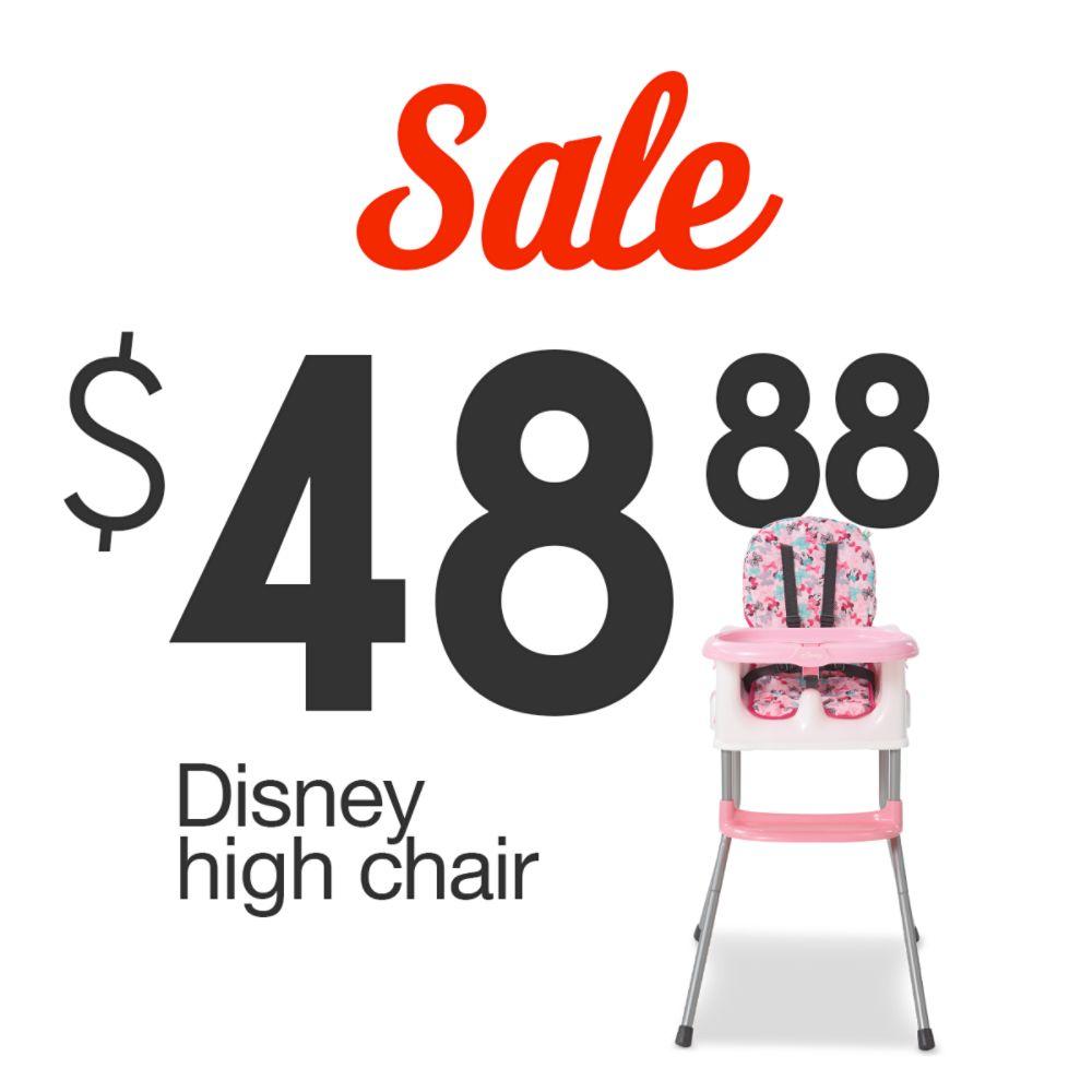 Disney High Chair | $48.88