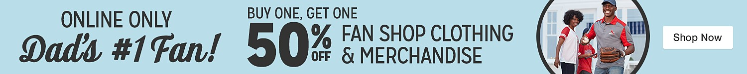 BOGO 50% Fan Shop