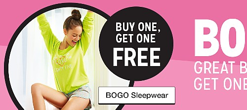 buy one get one free sleepwear