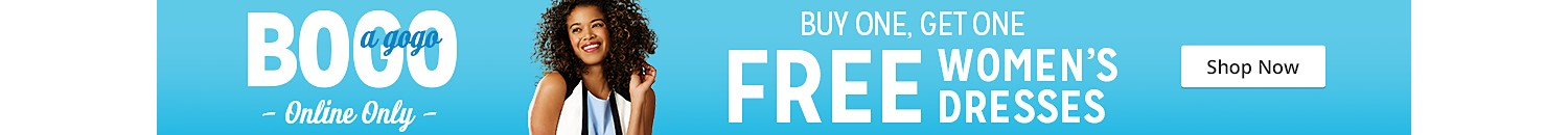 buy one get one free women's dresses