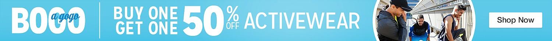 BOGO 50% off  Activewear