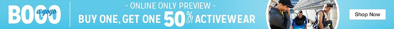 BOGO 50% off Activewar