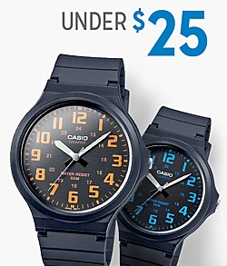Shop watches under $25