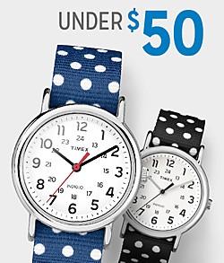 Shop Watches $50 & Under
