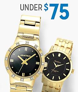Shop Watches $75 & Under