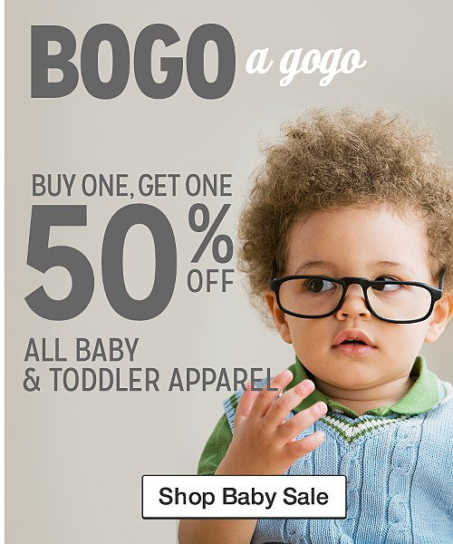 Shop Baby Sale:BOGO50