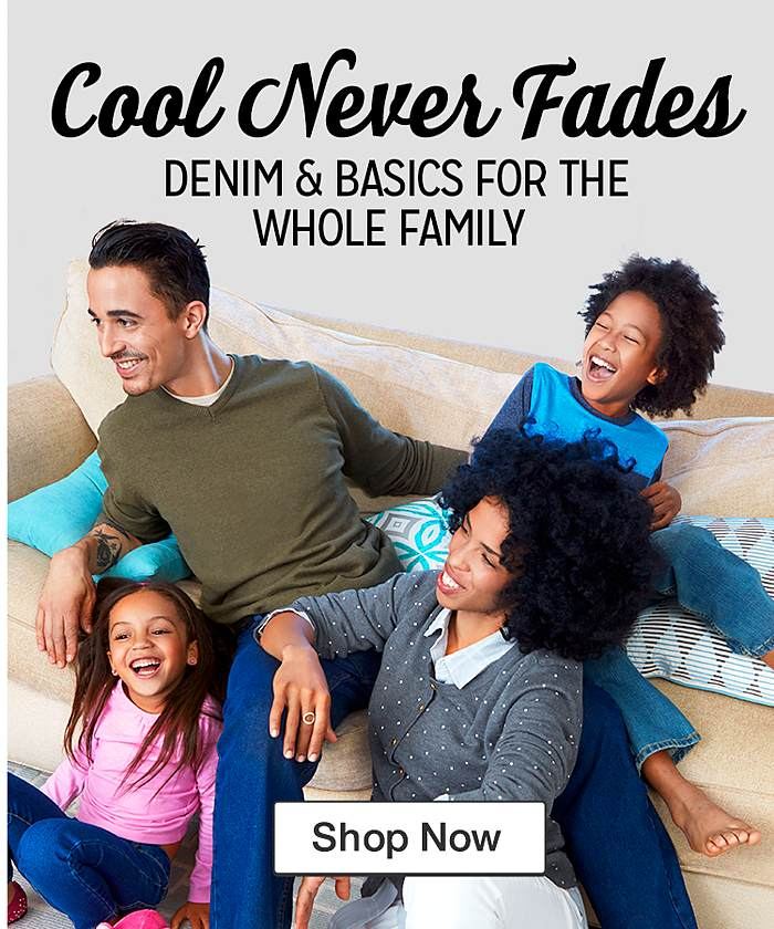 Shop Jeans for the Family