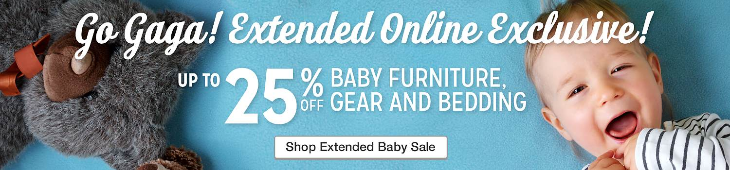 Baby Sale Extended 25% Off