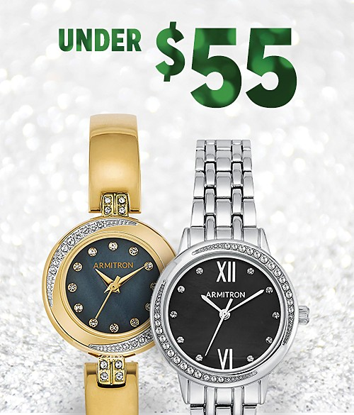 Shop watches under $55