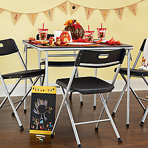 Kids Harvest Themed Table
