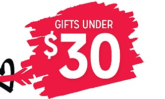 shop gifts $30 and under