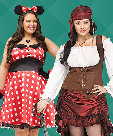 Women's Plus Costumes