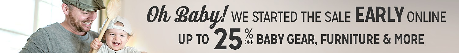 Online only! Baby Sale