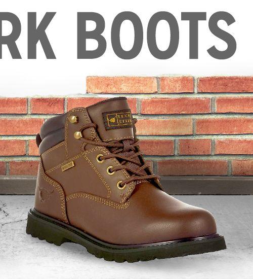 $24.98 Steel Toe Work Boot