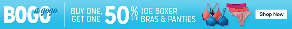 JB BOGO 50 Bras and Panties