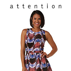 Attention clothing, shoes, and accessories
