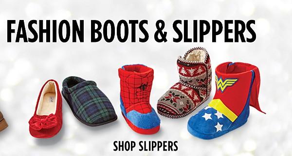 Shop BOGO $1 Slippers