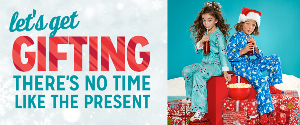 let's get gifting There's no time�like the present