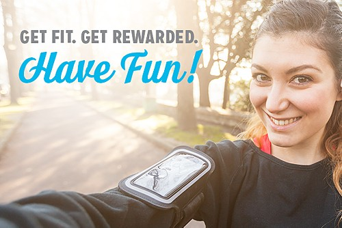 Get Fit. Get Rewarded.