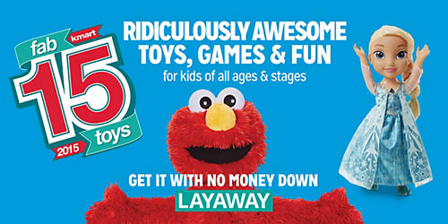 The Fab 15 toys. Discover them all at Kmart.