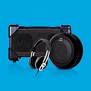 Extra 5% off headphones & portable speakers