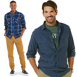 The latest looks for men at 25% off