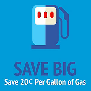 BIG GAS | Save 20 cents per gallon