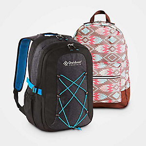 Extra 5% off backpacks