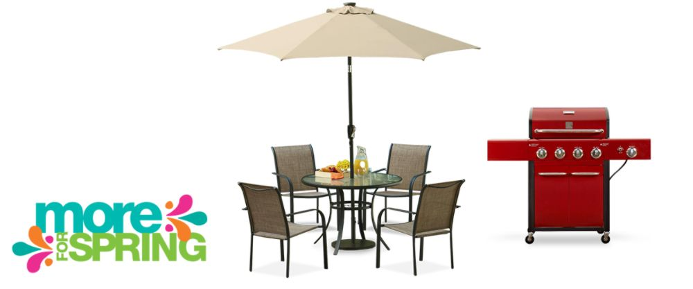 All patio furniture & grills on sale