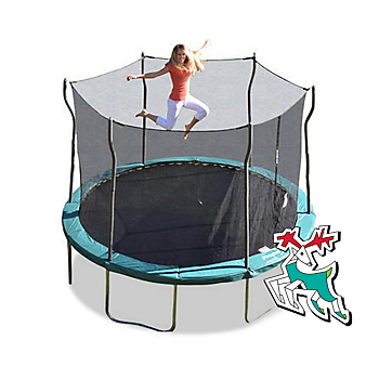 Trampoline&#x20&#x3b;with&#x20&#x3b;12-ft.&#x20&#x3b;enclosure