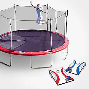 Extra 5% off trampolines & outdoor games