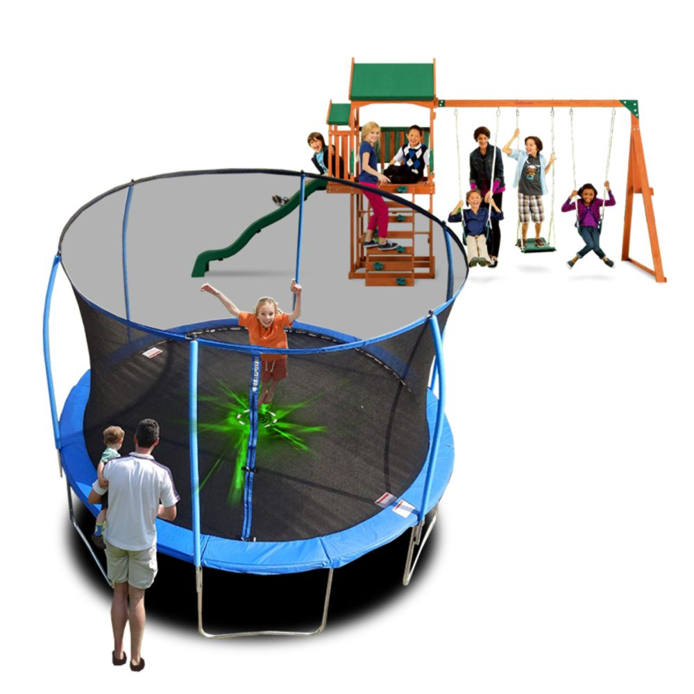 Swing Sets Trampolines Amp Outdoor Playsets