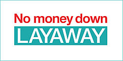 No Money Down Layaway