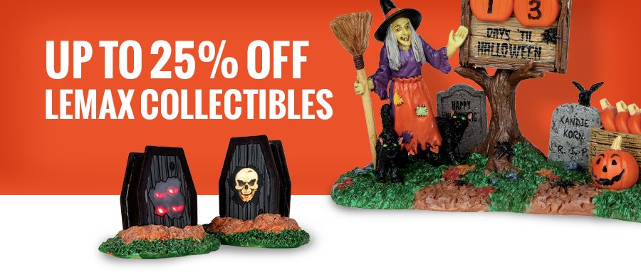 Up to 25% off Lemax Collectibles