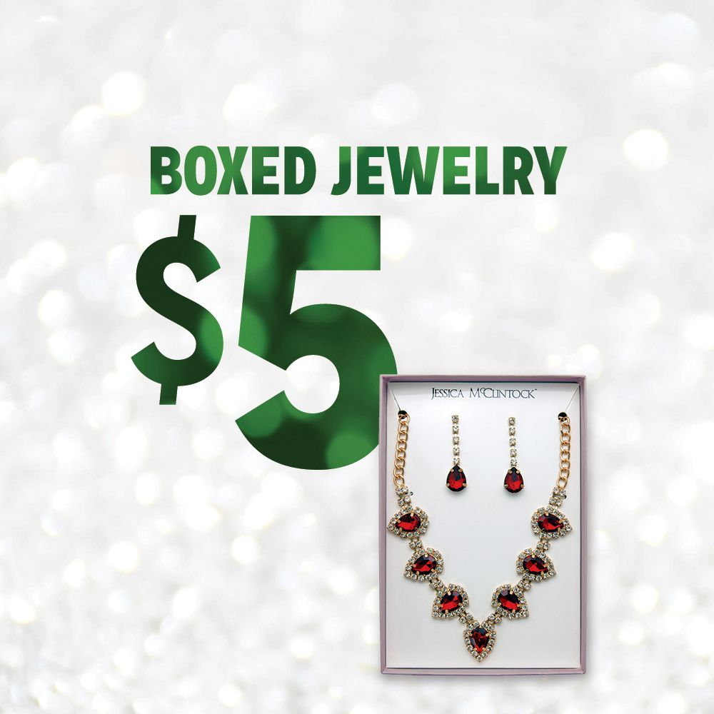 $5 Boxed Jewelry